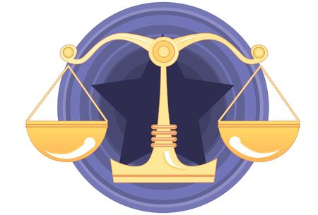 An image of scales of justice Stock Photo - 5833686