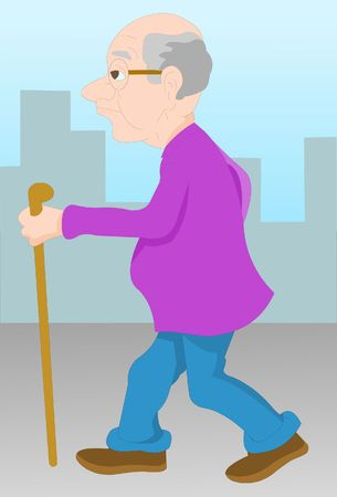 Walking To Stay Healthy After Retirement Senior Health Tips photo