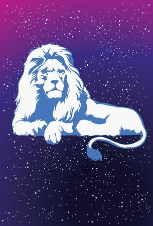 An image showing the lion which symbolizes the zodiac sign of Leo