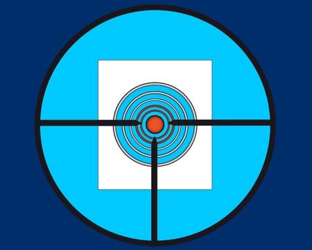 sight sniper target shooting