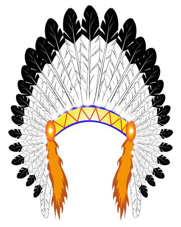 Как сделать корону для индейцев своими руками