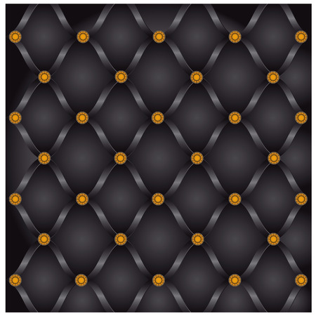 upholstery for door leatherette dark color Vector
