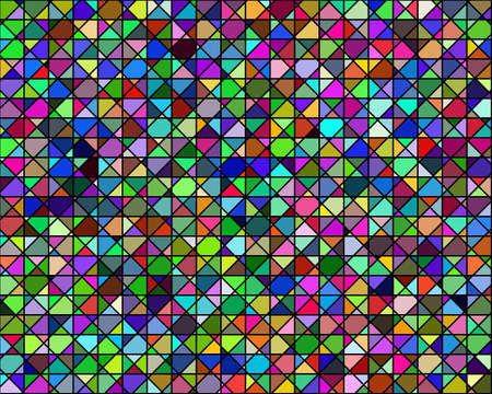 background abstraction of different colors geometric shapes shapes Illustration