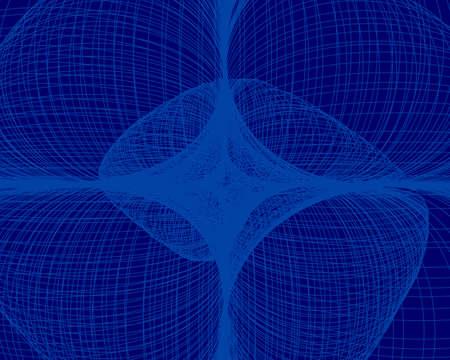 geometric background in blue light tone