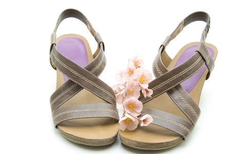 openly: Ladies shoes with flowers