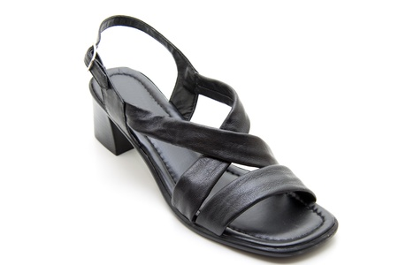 openly: Black Ladies shoes