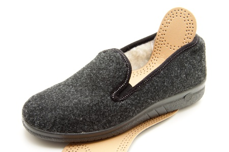 Shoe with insole