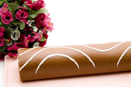 r�le: R�le Biscuit avec le bouquet