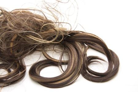 strand of hair: Hair lock