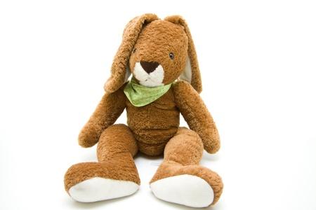 Plush hare Stock Photo