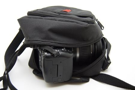 Camera case Stock Photo