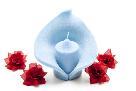 formed: Blue candle formed