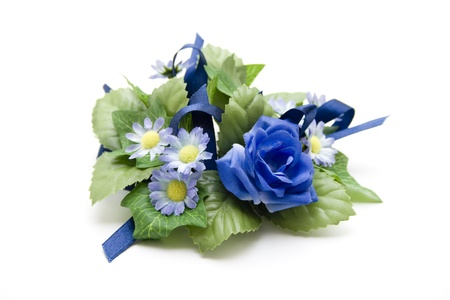 artificially: Blue  floral decoration