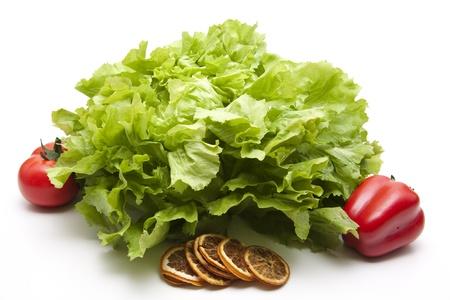 andijvie: Andijvie salade met paprika