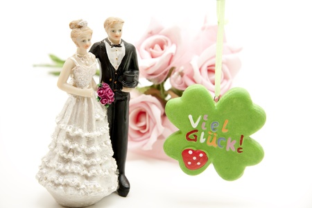 Bride pair and lot luck Stock Photo - 11993081