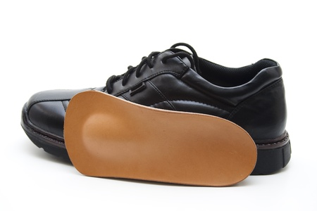 Mans shoe Stock Photo