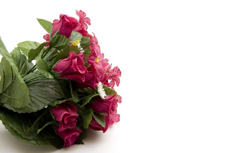 artificially: Bouquet from roses Stock Photo