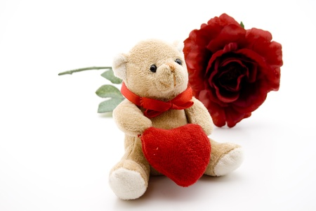 Teddy Bears With Hearts And Roses Teddy Bear With Heart And Rose