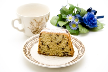 Coffee cakes with unterplate photo