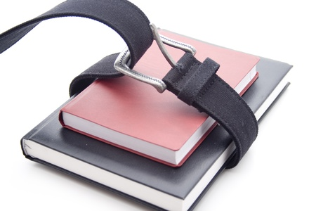 quoted: Notebook with belt