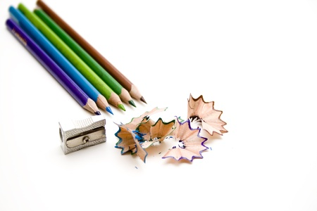 Federal pencils with sharpener Stock Photo - 12267500