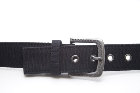 Black trousers belt Stock Photo - 12267549