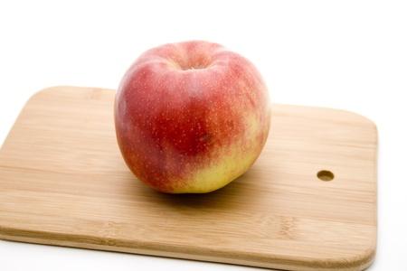 cutting edge: Apple on cutting edge board