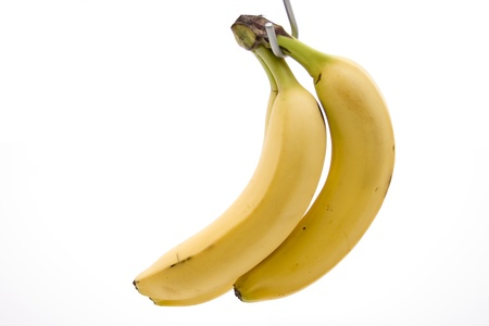 calories poor:  Yellow bananas     Stock Photo
