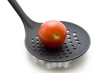 skimmer: Skimmer and tomato