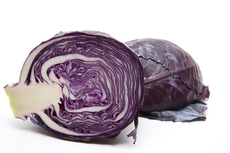 red cabbage: Half a red cabbage