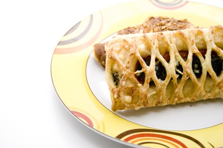 cafe y pastel: Caf� pastel con relleno