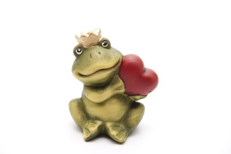 the frog prince: Frog prince con il cuore