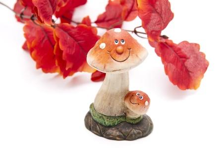 autumnally: Laughing stone mushroom Stock Photo