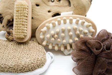 Massage brush and sponge Stock Photo - 12692102