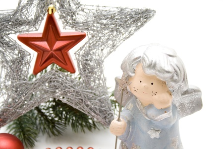engel: Christmas star with Engel