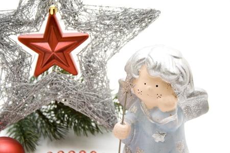 engel: Christmas star with Engel