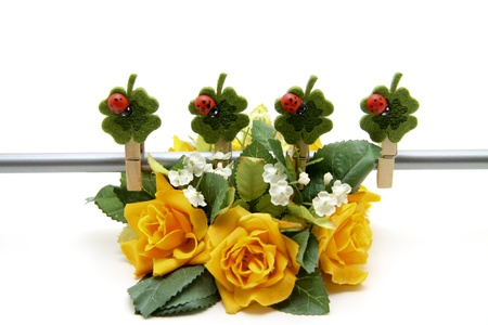 Rose flower arrangement Stock Photo - 12795501