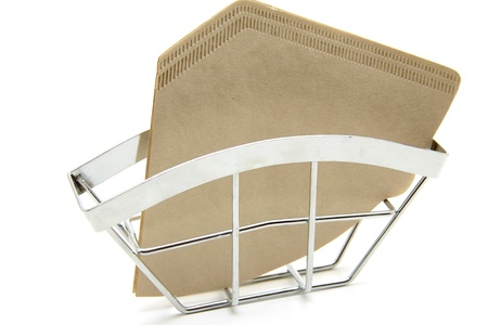 papel filtro: El papel de filtro en el soporte