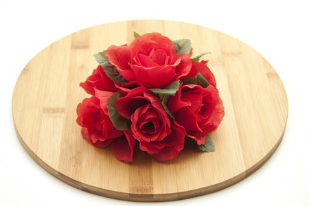 Rose flower arrangement Stock Photo - 12795377