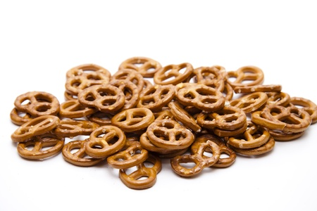 Salted pretzel Stock Photo - 12795205