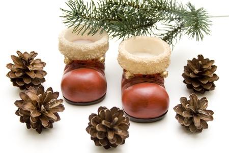 Christmas boot Stock Photo - 13040727