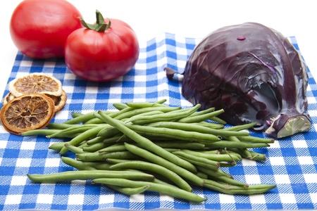 green beans: Ejotes Foto de archivo