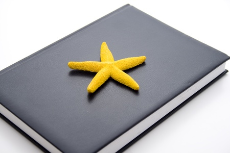 date book: Notebook with sea star