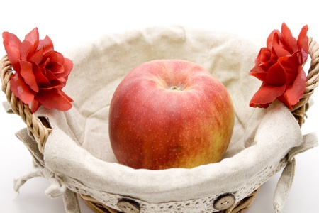 Apple in the basket Stock Photo - 13259757