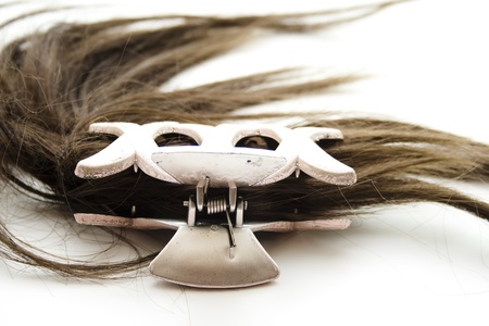 hairpiece: Hairpiece with hair slide