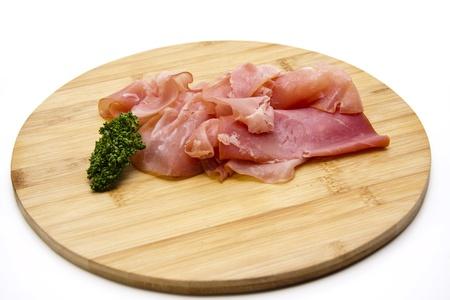 Parsley with ham