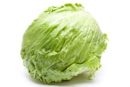 calories poor: Fresh iceberg salad