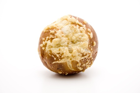 lye: Lye bread rolls with cheese