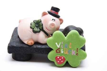 Luck pig  Stock Photo - 13768029