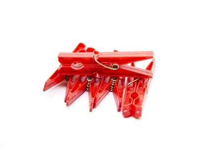 Stable clothes pegs Stock Photo - 17310511
